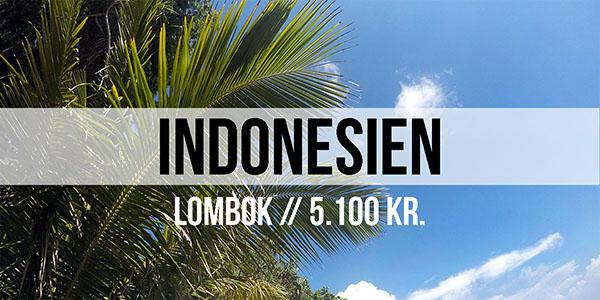 Lombok i Indonesien