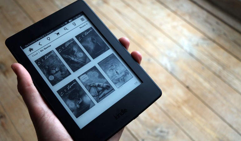 Kindle: Flere tusinde bøger på én enhed