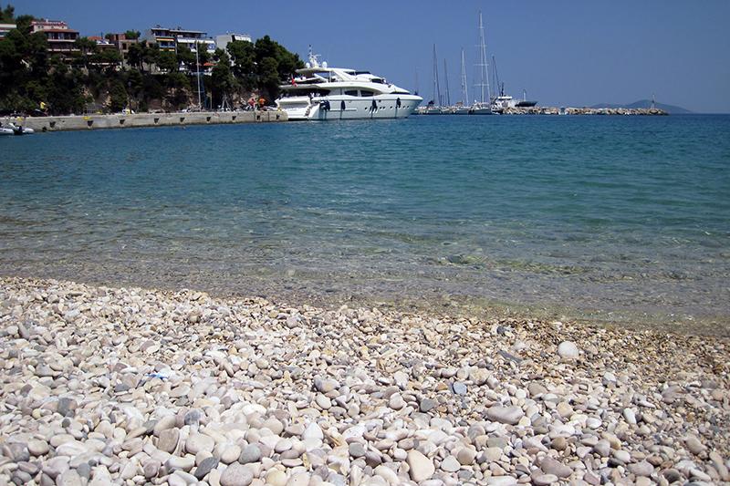 Megali Ammos strand