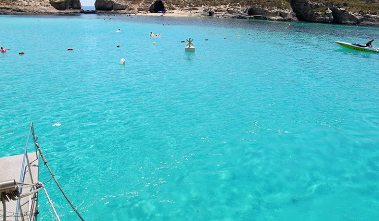 The Blue Lagoon (Comino, Malta)