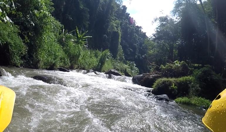 River Rafting på Bali