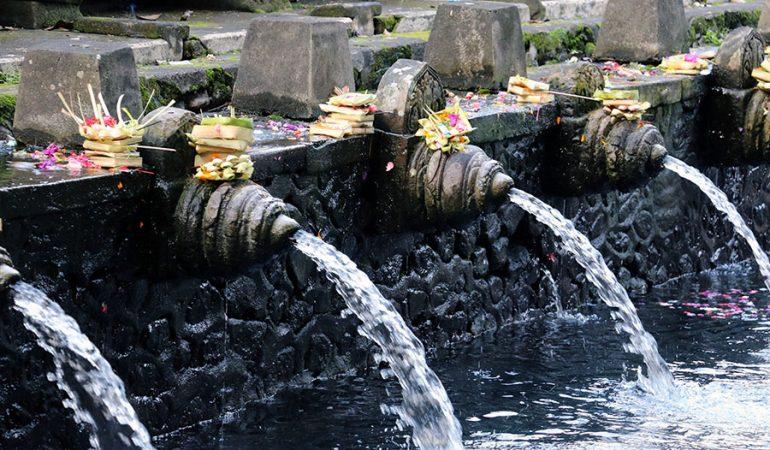 Tre flotte templer på Bali