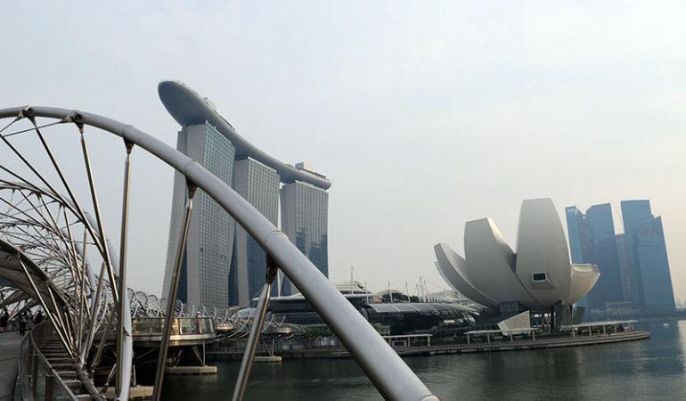 Det imponerende Marina Bay Sands