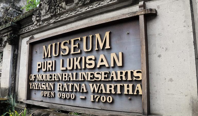 Kunstmuseet Puri Lukisan i Ubud