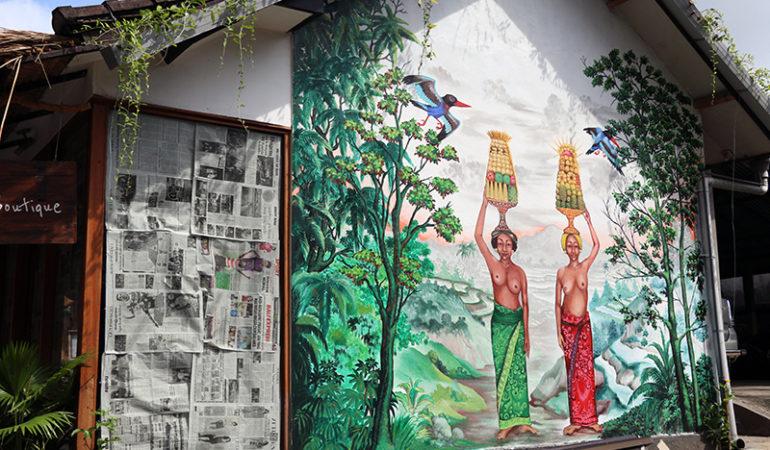 Street Art i Ubud