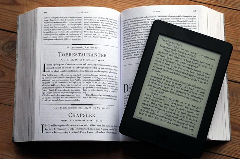 elektronisk bog læser