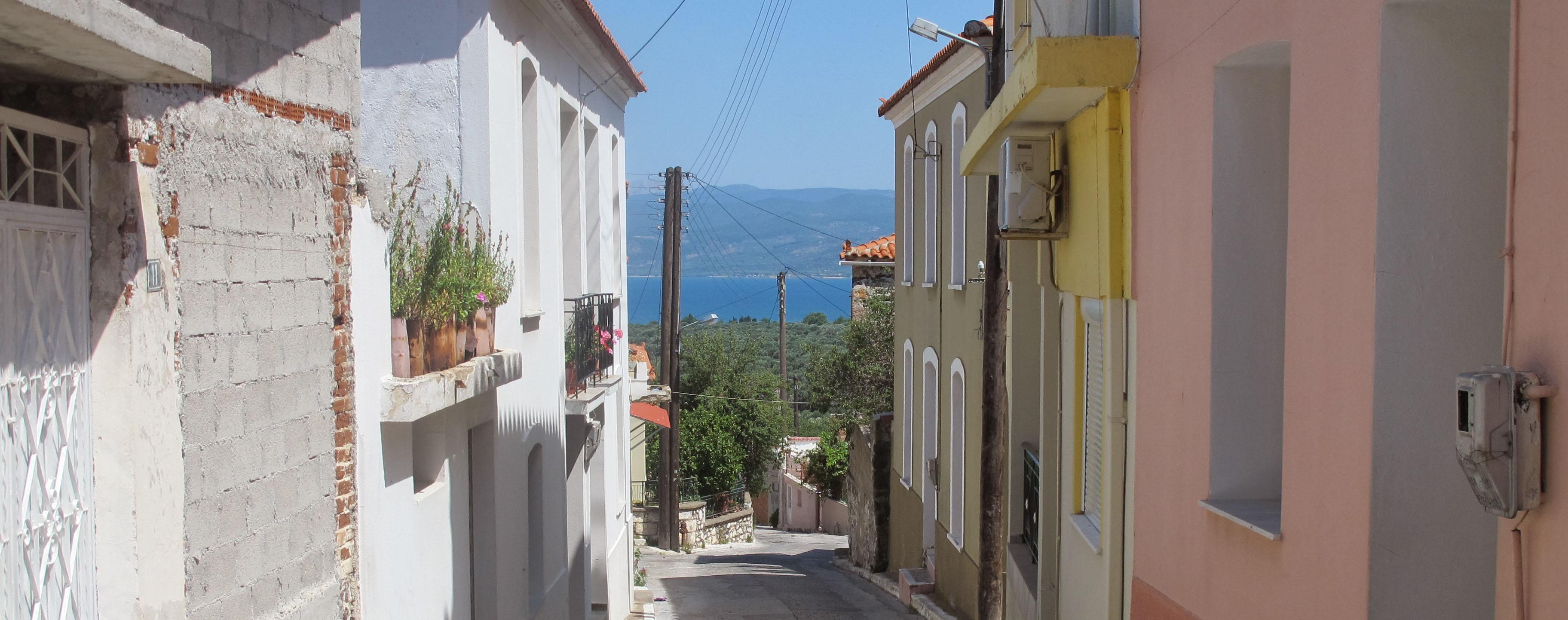 Lesbos - huse og vand-2