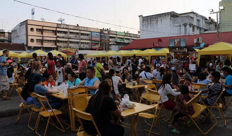 Weekendmarked i Krabi by