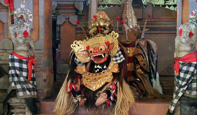 Den balinesiske Barong dans