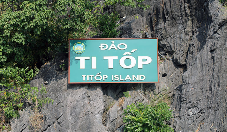 Ti Top Island i Ha Long Bay